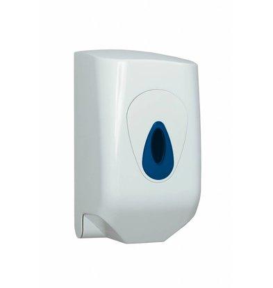 XXLselect Handdoekroldispenser Mini | White Plastic: 321-321zk-325