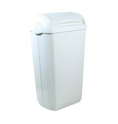 XXLselect Ladies Dressing Container   White Plastic   Standing / Wall mounting