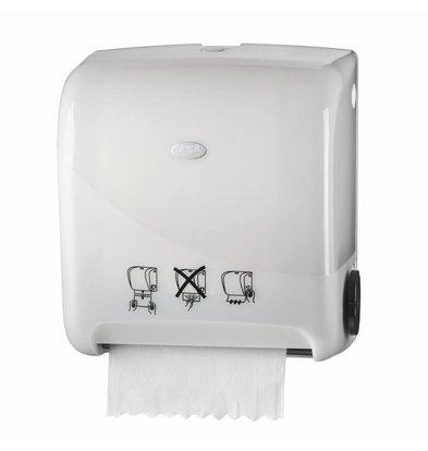 XXLselect Handdoekrol Automatisch Matic | Wit Kunststof