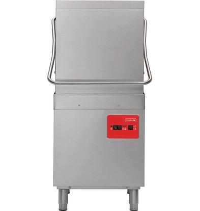 Gastro M Doorschuifvaatwasser | 50x50cm | 900 Borden p/u | Naglansdoseerder | 400V
