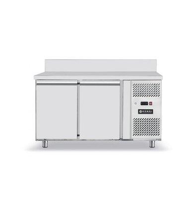 Hendi Cool Workbench - 2 Doors - Machine Right - 1360x700x (H) 850mm