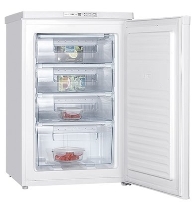 Exquisit Tabletop freezer - 4 Laden - 85Liter - 55x58x (h) 85cm