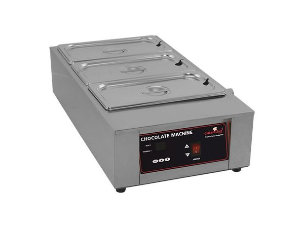 Caterchef Chocolade / Sauzen Warmer 1/1 GN | RVS | Digitaal Bedieningspaneel | 67x36x(H)18cm