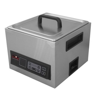 Caterchef Sous Vide 2 / 3GN | Stainless steel | Incl. Cover and two handles | Digital Thermostat 30 / 90Cº