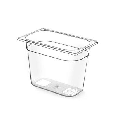 Hendi Gastronormbak 1/4 - 150 mm - BPA-free Tritan