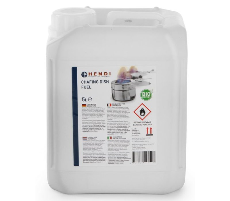 Hendi Brandpasta - can 5 Liter - ethanol A-Heat