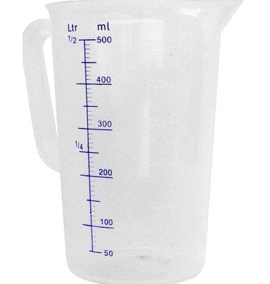 Hendi Measuring cup Plastic for Hospitality - Polypropylene - Ø110x170mm - 1 Litre