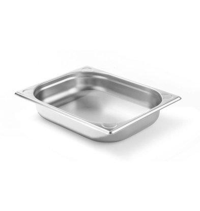 Hendi Gastronormbak RVS 1/2 - 65 mm | 325x265mm