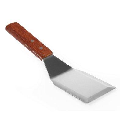 Hendi Hamburger Turner | with Wooden Handle | 120x75x (L) 280 mm
