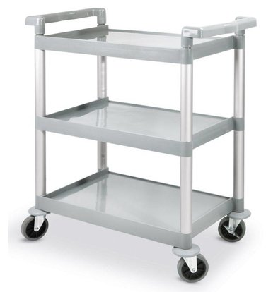 Hendi Serving trolley - three blades - Plastic - 150Kg - 800x410x (h) 950mm