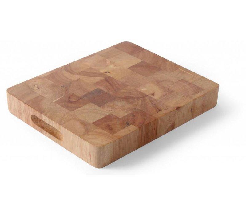 Hendi Cutting GN 1/1 - Rubber Wood - 530x325x (h) 45 mm - XXL cutting board