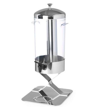 Hendi Sapdispenser met ijsblokjeskoeling | 5 Liter Non-drip Tapkraan | 280x220x(h)510mm
