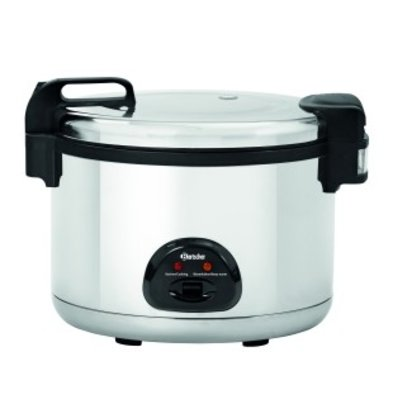 Bartscher Rice Cooker 12 Liter | Stainless steel | Ø465x (H) 400mm