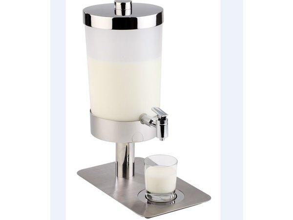 APS FSE Melkdispenser 6 Liter | 2 Koelelementen met Aftapkraan | 210x350x(h)480 mm
