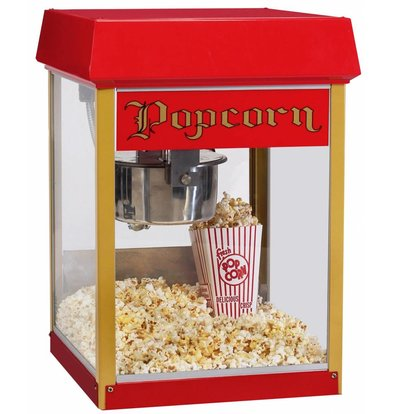 XXLselect Popcorn Machine - Europop - 46x46x (h) 75cm