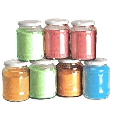 XXLselect 500gr x 6 Potten Suiker voor Suikerspinnen - 4000 Porties - Groen