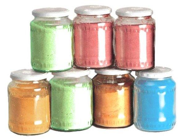 Neumarker 500gr x 6 Potten Suiker voor Suikerspinnen - 4000 Porties - Blauwe Bes