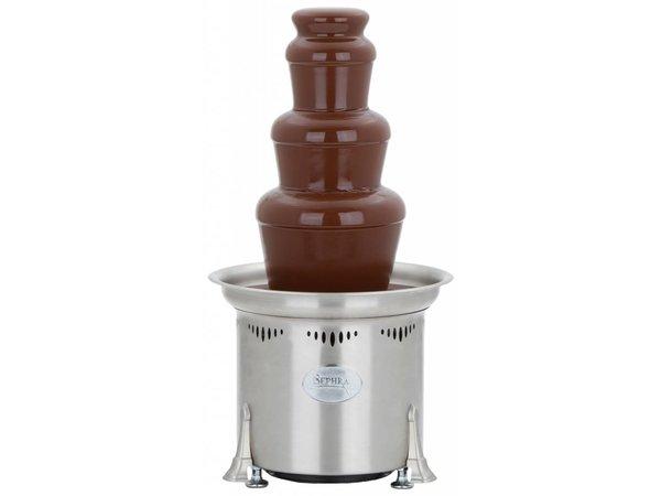 XXLselect Chocoladefontein - Cortez - 3kg - 50/75 personen - 32x(h)59cm