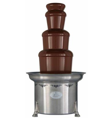 XXLselect Chocolate Fountain - Aztec - 5kg - 75/150 persons - 38x (h) 69cm