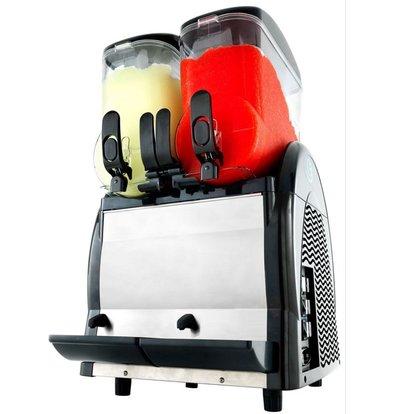 Neumarker Twist slush Dispenser - 2x 12 Liter - 460x520x(h)810 mm