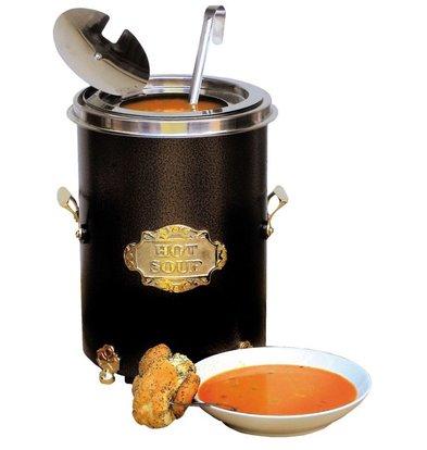Neumarker Hot Soup Black - Soup Kettle 5 Liter - Ø250x (h) 350 mm