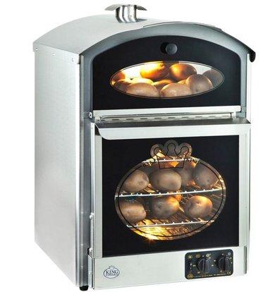 Neumarker Potato oven 60 + 60 Potatoes - 510x580x (H) 750mm - 230V / 3KW