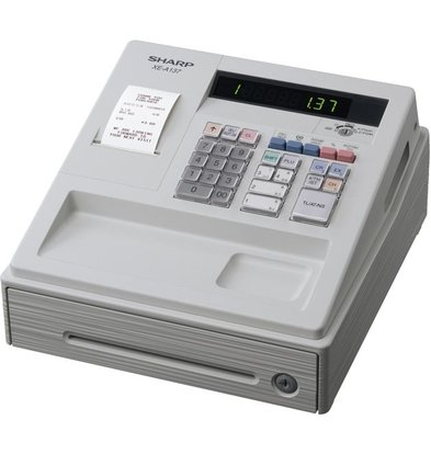 Sharp Sharp cash register XE-A137WH - Thermal Printer (NO INK REQUIRED) - 200 Products - 8 Product