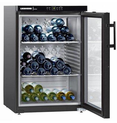 Liebherr Wijnkoelkast Zwart | 151 Flessen | Liebherr | 151 Liter | WKb 1812 | 60x61x(h)89cm