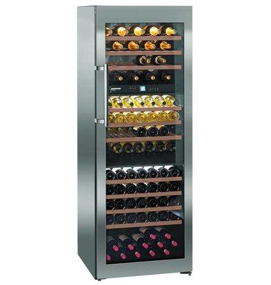 Liebherr Climate Wine Cupboard SS | 178 Bottles | Liebherr | 578 Liter | WTes 5872 | 70x74x (h) 192cm