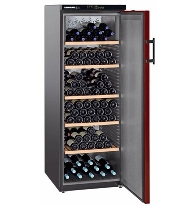 Liebherr Wine Fridge Black / Burgundy - Close Door | 200 Bottles | Liebherr | 427 Liter | WKr 4211 | 60x74x (h) 165cm