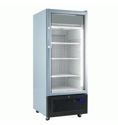 Liebherr Display Freezer White with Glass Door | Liebherr | 365 Liter | Fv 3613 | 67x73x (h) 196cm | with wheels