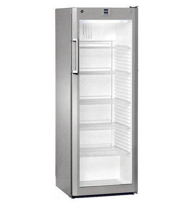 Liebherr Refrigerator Dynamic Steel Gray | Glass Door | Liebherr | 348 Liter | FKvsl 3613 | 60x61x (h) 164cm