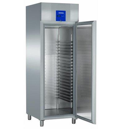 Liebherr Freezer Bakery standard stainless Profiline   20 carrier rails - 400x600mm   Liebherr   601 Liter   BGPv 6570   70x83x (h) 215cm