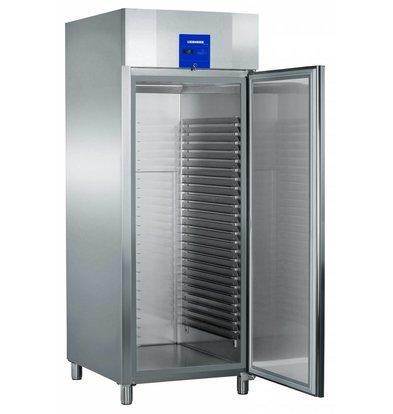 Liebherr Freezer Bakery standard stainless Profiline   25 carrier rails - 600x800mm   Liebherr   856 Liter   BGPv 8470   79x98x (h) 215cm