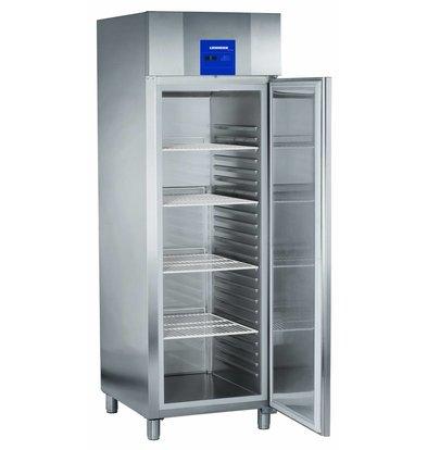 Liebherr Bakery standard stainless steel refrigerator ProfiLine   20 carrier rails - 400x600mm   Liebherr   601 Liter   BKPv 6570   70x83x (h) 215cm