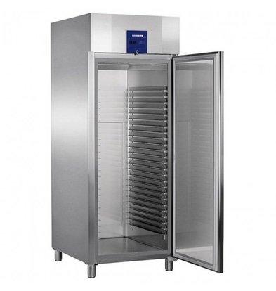Liebherr Bakery standard stainless steel refrigerator ProfiLine   25 carrier rails - 600x800mm   Liebherr   856 Liter   BKPv 8470   79x98x (h) 215cm