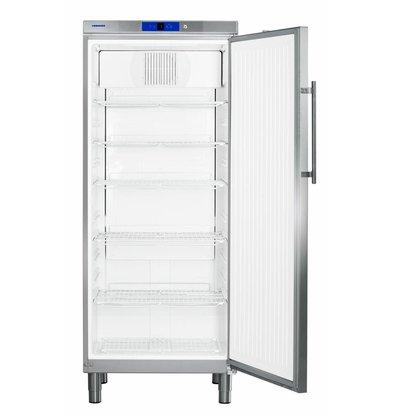 Liebherr Refrigerator Stainless Gastronomy on Legs | Liebherr | 583 Liter | 2 / 1GN | GKN 5790 | 75x75x (h) 186cm
