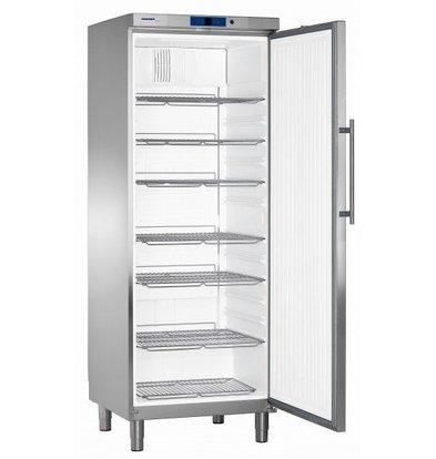 Liebherr Refrigerator Stainless Gastronomy on Legs | Liebherr | 663 Liter | GKN 6460 | 75x75x (h) 206cm