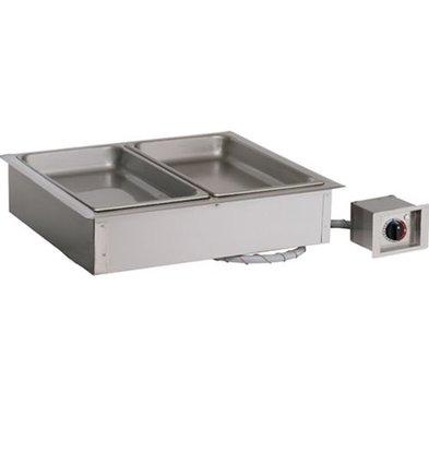 Alto Shaam Dry bain-marie   Alto Shaam 200-HWI / D4   2,4kW   Individual Temperature Control   3x 1 / 1GN 100mm