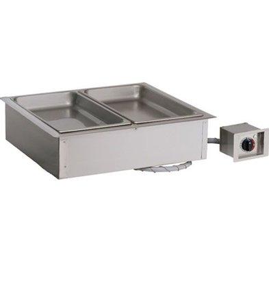 Alto Shaam Dry bain-marie   Alto Shaam 200-HW / D6   electric   1,2kW   2x 1 / 1GN 150mm