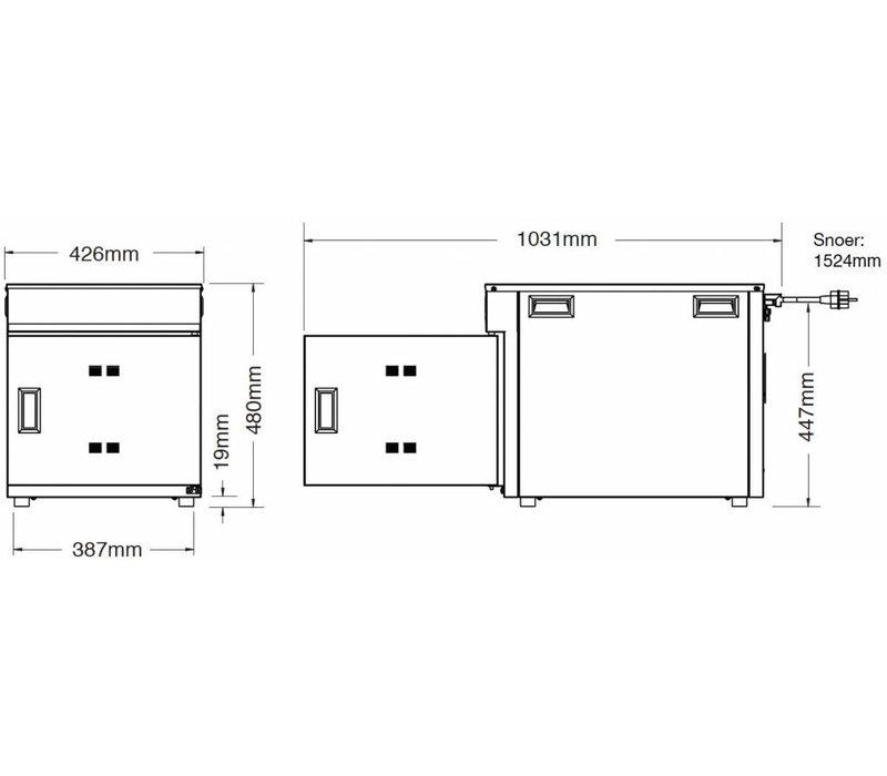 Alto Shaam Cook & Hold Oven | Alto Shaam 300-TH/III | Elektrisch | 620KW | Max. 16kg