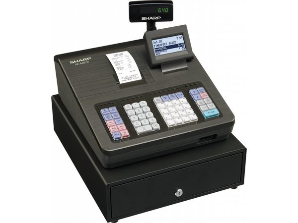 Sharp Sharp cash register XE-A207B - Thermal Printer (NO INK REQUIRED) - 2000 Products - Product 99