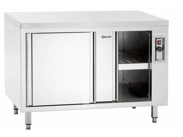 Bartscher Warmkast met Schuifdeuren en Tussenschap - 2kW - 200x70x(h)85/90cm