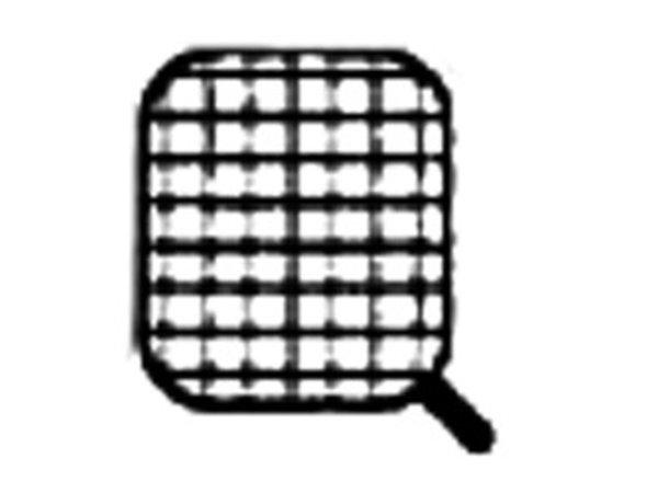 Diamond Mand RVS Voor Pastakoker | Handgreep Zijkant | 165x145x230(h)mm