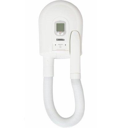 Casselin Hotel Hairdryer Digital | 1500W | 87 m3 / h | Adjustable 40 ° C to 80 ° C