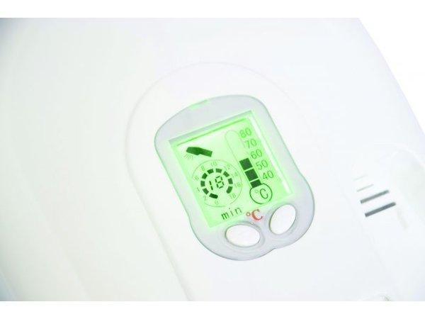 Casselin Hotel Haardroger Digitaal   1500W   87 m3/h   Regelbaar 40°C tot 80°C