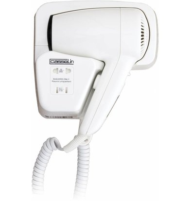 Casselin Hotel with Hairdryer Shaver socket | 1200W | 87 m3 / h | 2 drying positions
