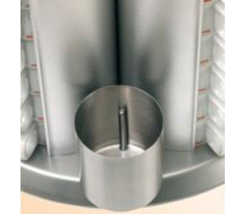 Bartscher Kopjesverwarmer Tafelmodel | 48 kopjes | 200W | XXL AANBIEDING!