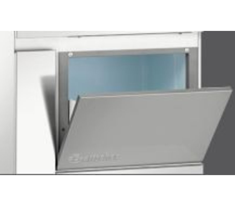 Bartscher Scherfijsmachine - 90 kg/24 uur - Voorraad 20kg - 57x60x(h)68cm