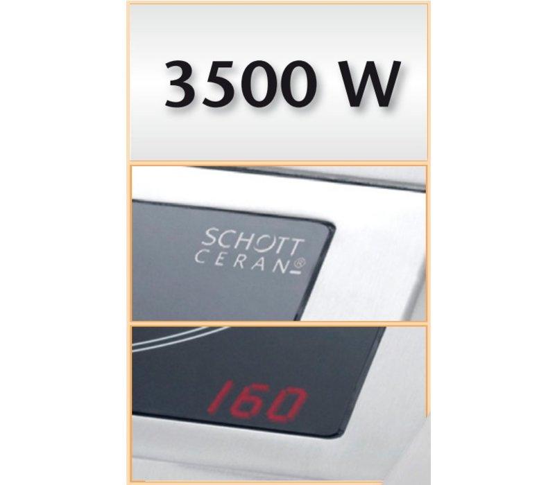 Bartscher Inductie-kookplaat IK 35SK - 34x44,5x(h)11,5 - 3500W/230V